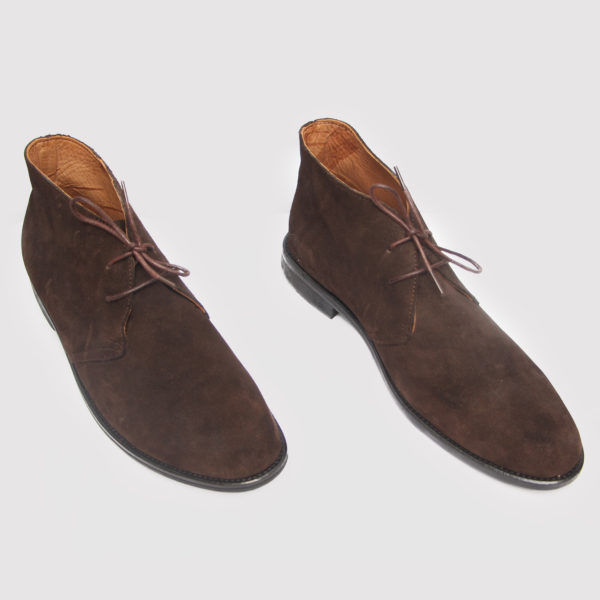 Chukka Boots Brown Suede ZMB019 - Zorkle Shoes