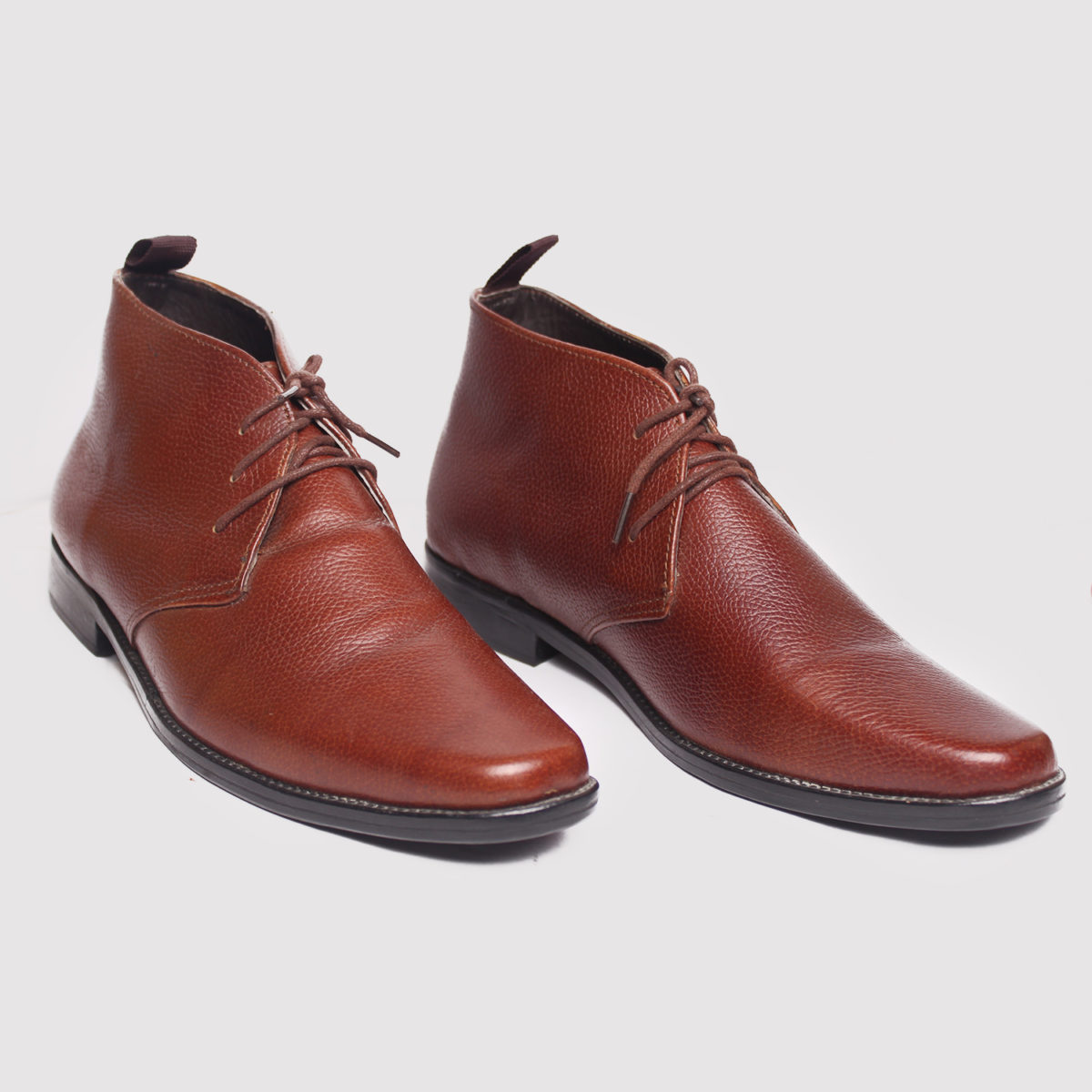 Chukka boots brown calf leather ZMB013 - Zorkle Shoes