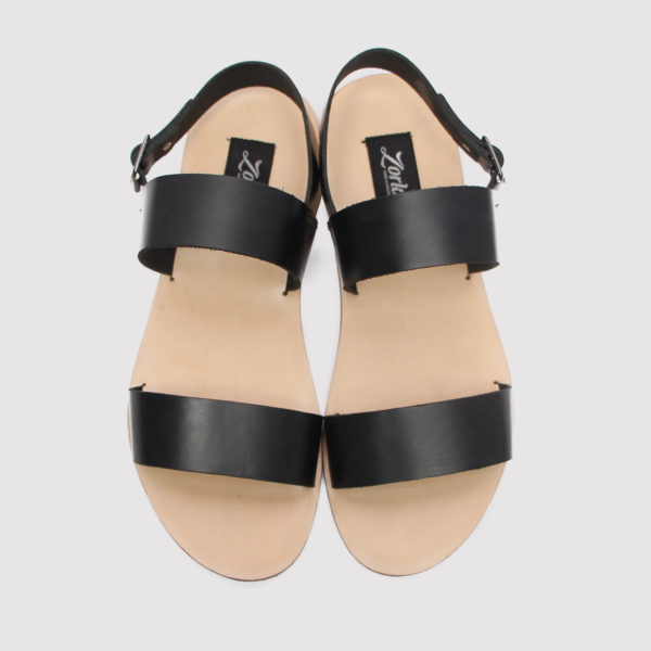 Pebi sandals black leather zorkles shoes in lagos nigeria