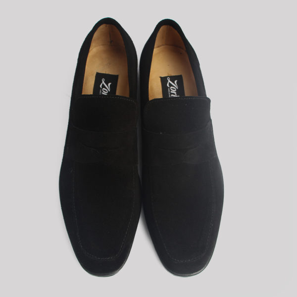 Penny loafers black suede zorkles shoes in lagos nigeria