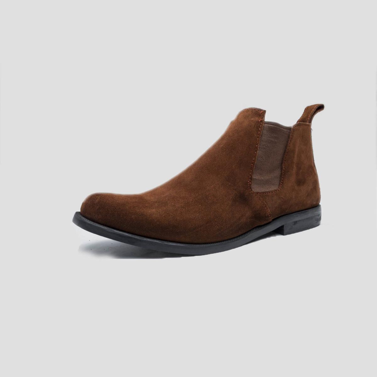 lennon chelsea boots brown suede zorkle shoes lagos nigeria