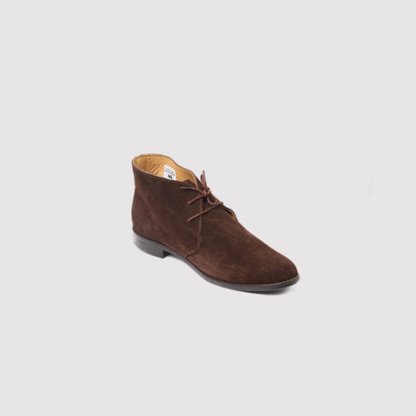 chukka boots brown suede by zorkle shoes lagos nigeria