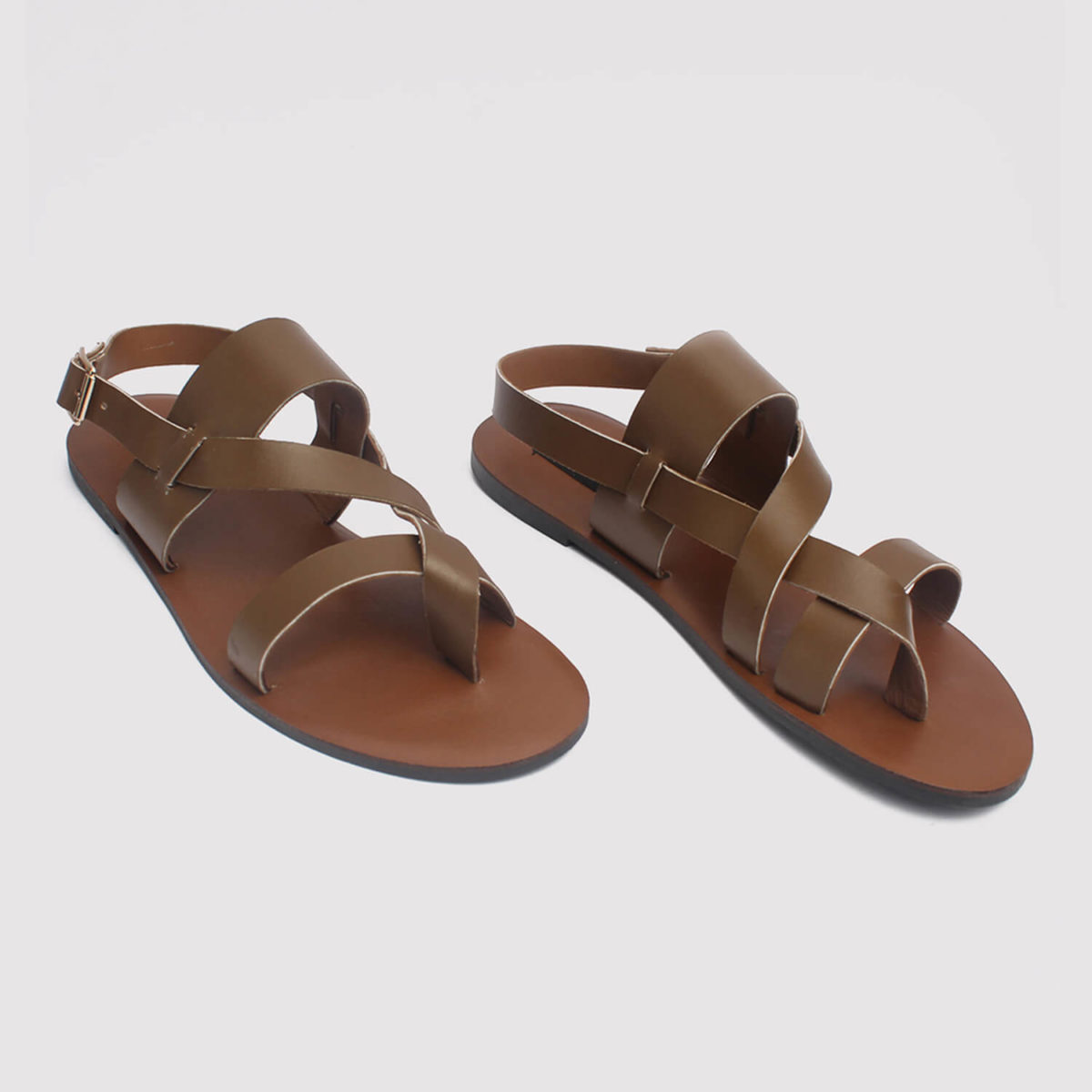 kuti sandals brown leather zorkle shoes in lagos nigeria