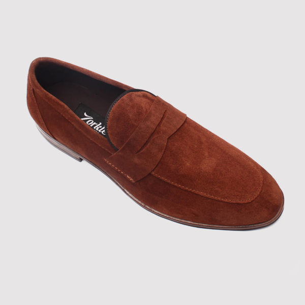penny loafers brown suede zorkle shoes in lagos nigeria