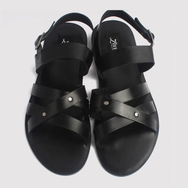 roman gladiator sandals black leather zorkle shoes lagos nigeria