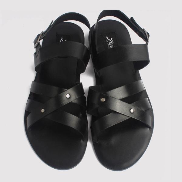roman gladiator sandals black leather zorkle shoes lagos nigeria