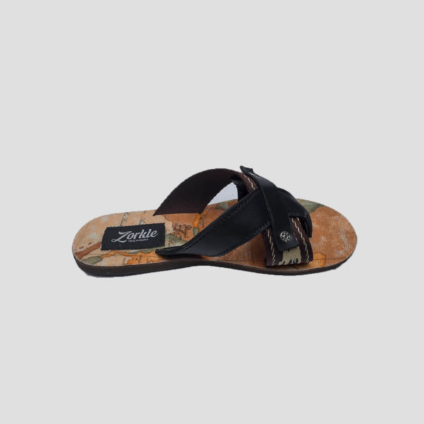 tourist slippers black leather zorkle shoes lagos nigeria