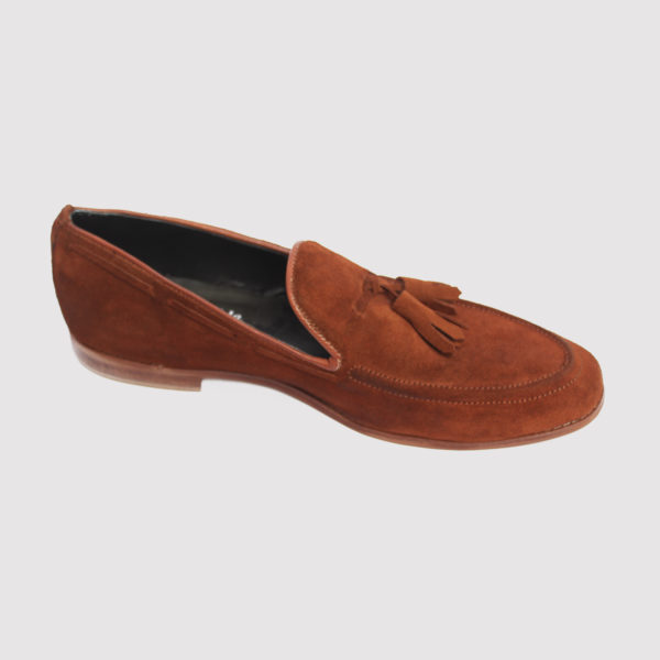 Trevor tassel loafers brown suede zorkle shoes in lagos nigeria
