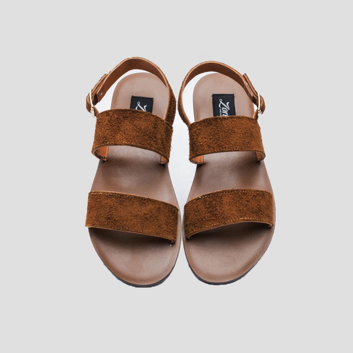 veneta sandals brown suede zorkle shoes lagos nigeria