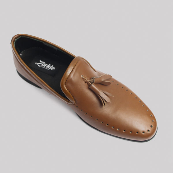Jazzy tassel loafers brown leather zorkles shoes in lagos nigeria