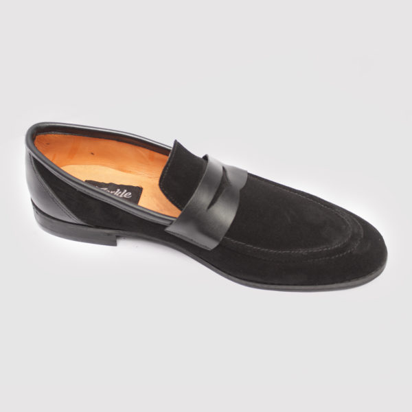 Penny loafers top black suede zorkle shoes in lagos nigeria