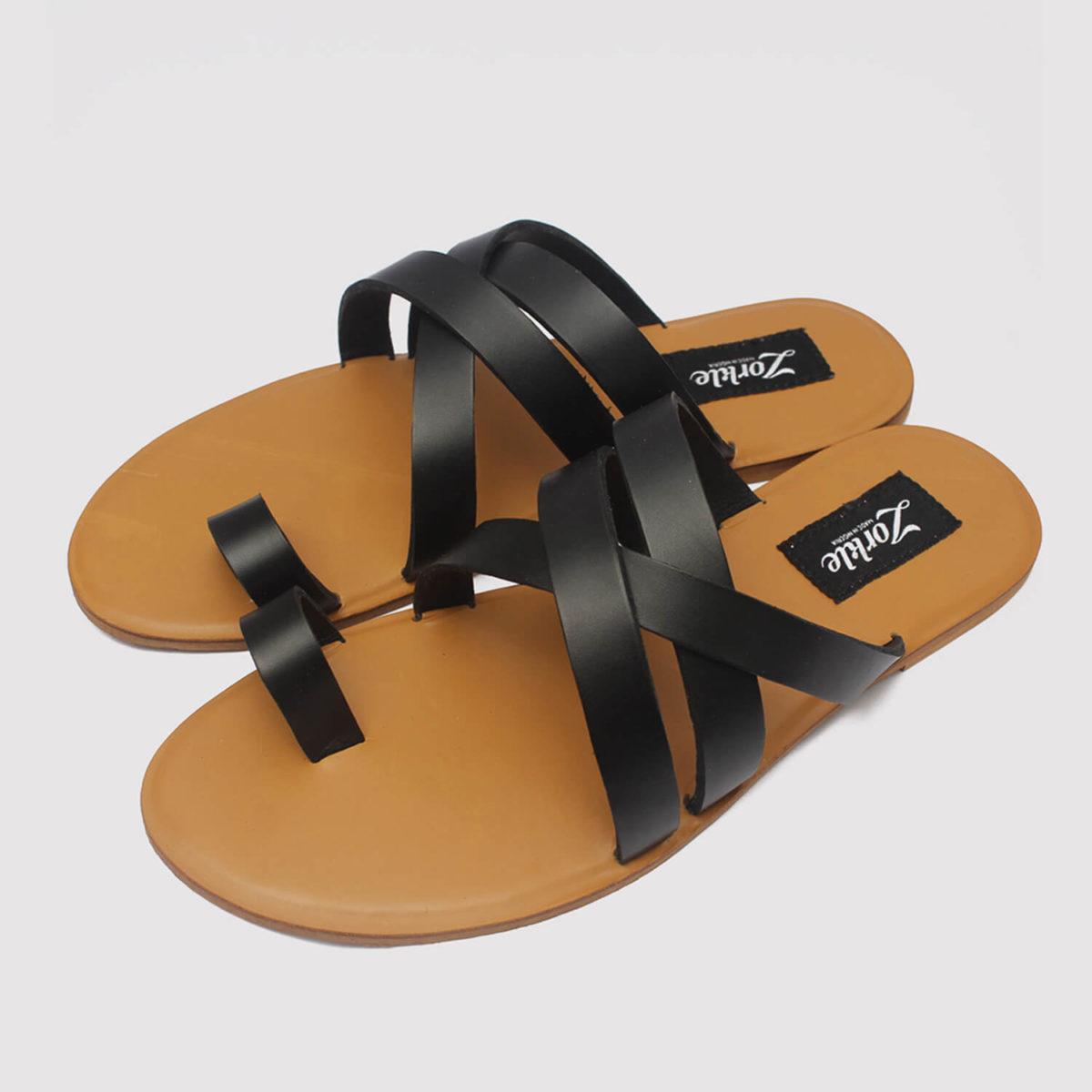 antler black leather zorkle shoes in lagos nigeria