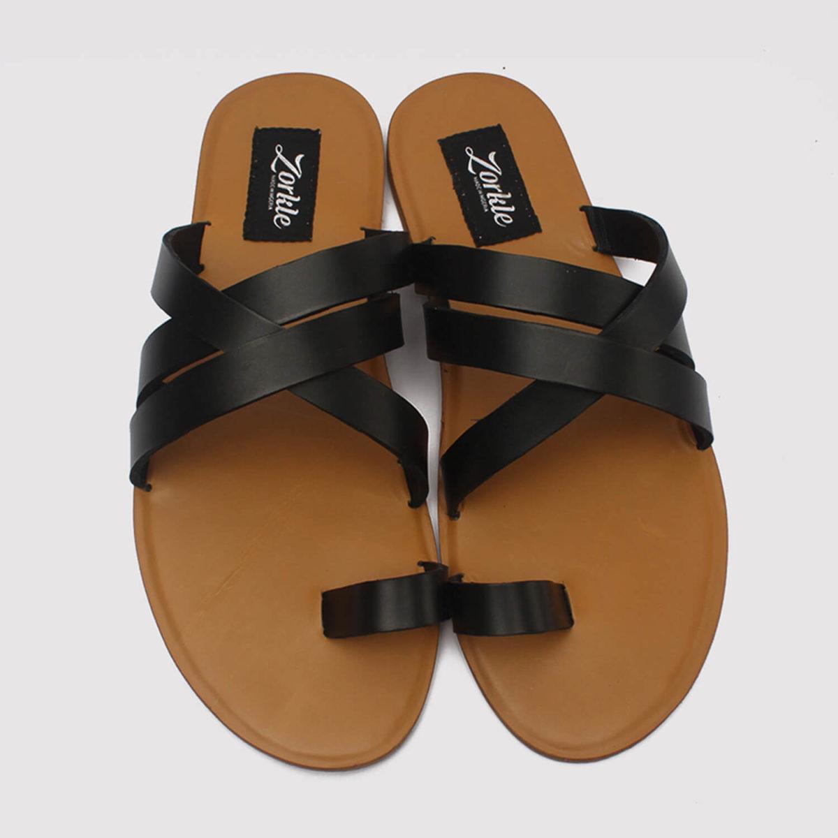 antler black leather zorkle shoes lagos nigeria