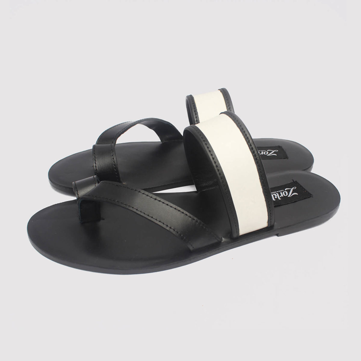 barry slippers black leather zorkle shoes in lagos nigeria
