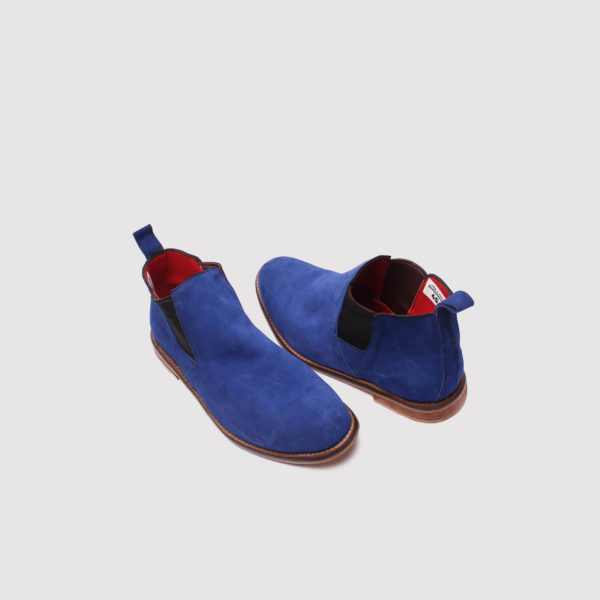 lennon chelsea boots blue suede zorkle shoes in lagos nigeria
