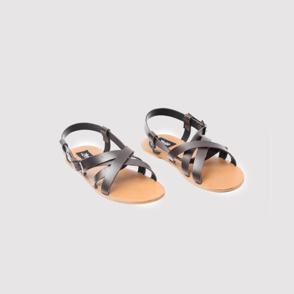 gilda sandals brown leather zorkle shoes in lagos nigeria