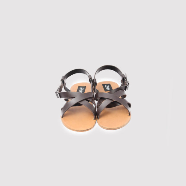 gilda sandals brown leather zorkle shoes lagos nigeria