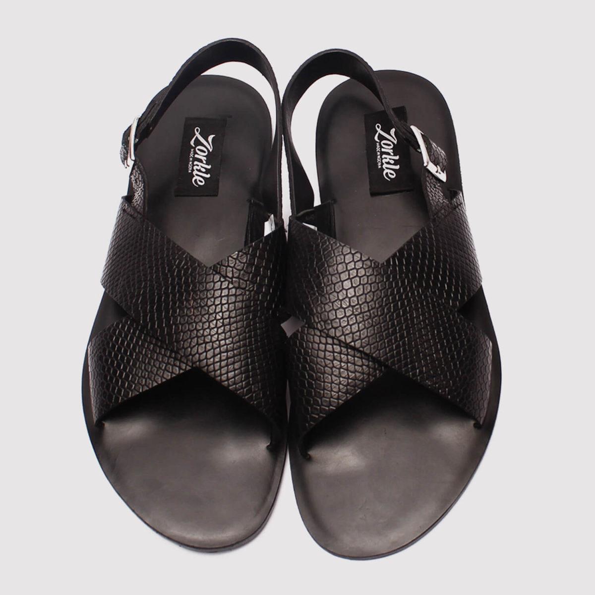 hafred sandals black leather zorkle shoes lagos nigeria