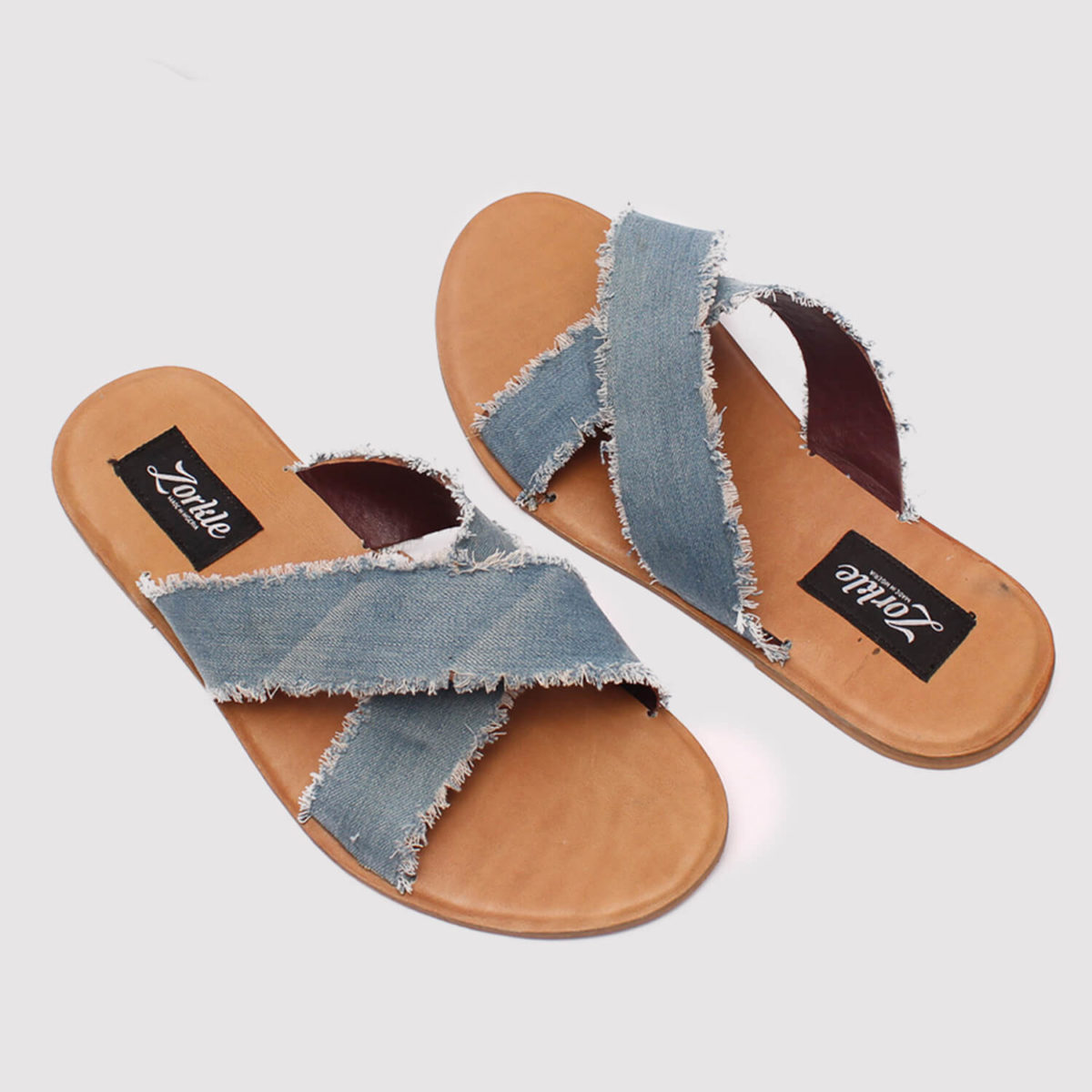 juss denim cross by zorkle shoes in lagos nigeria