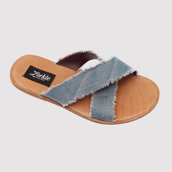juss denim cross by zorkle shoes lagos nigeria