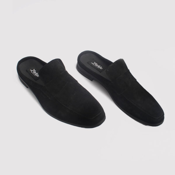 penny loafers half shoes black suede zorkle shoes in lagos nigeria