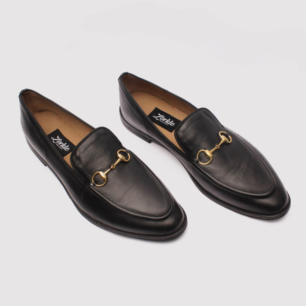 richy black leather by zorkle shoes lagos nigeria