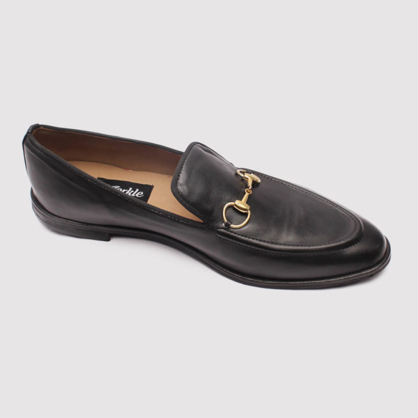 richy black leather zorkle shoes in lagos nigeria