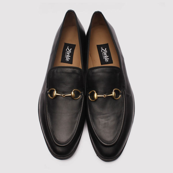 richy black leather zorkle shoes lagos nigeria