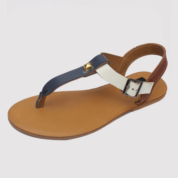 toke sandals blue brown white by zorkle shoes lagos nigeria