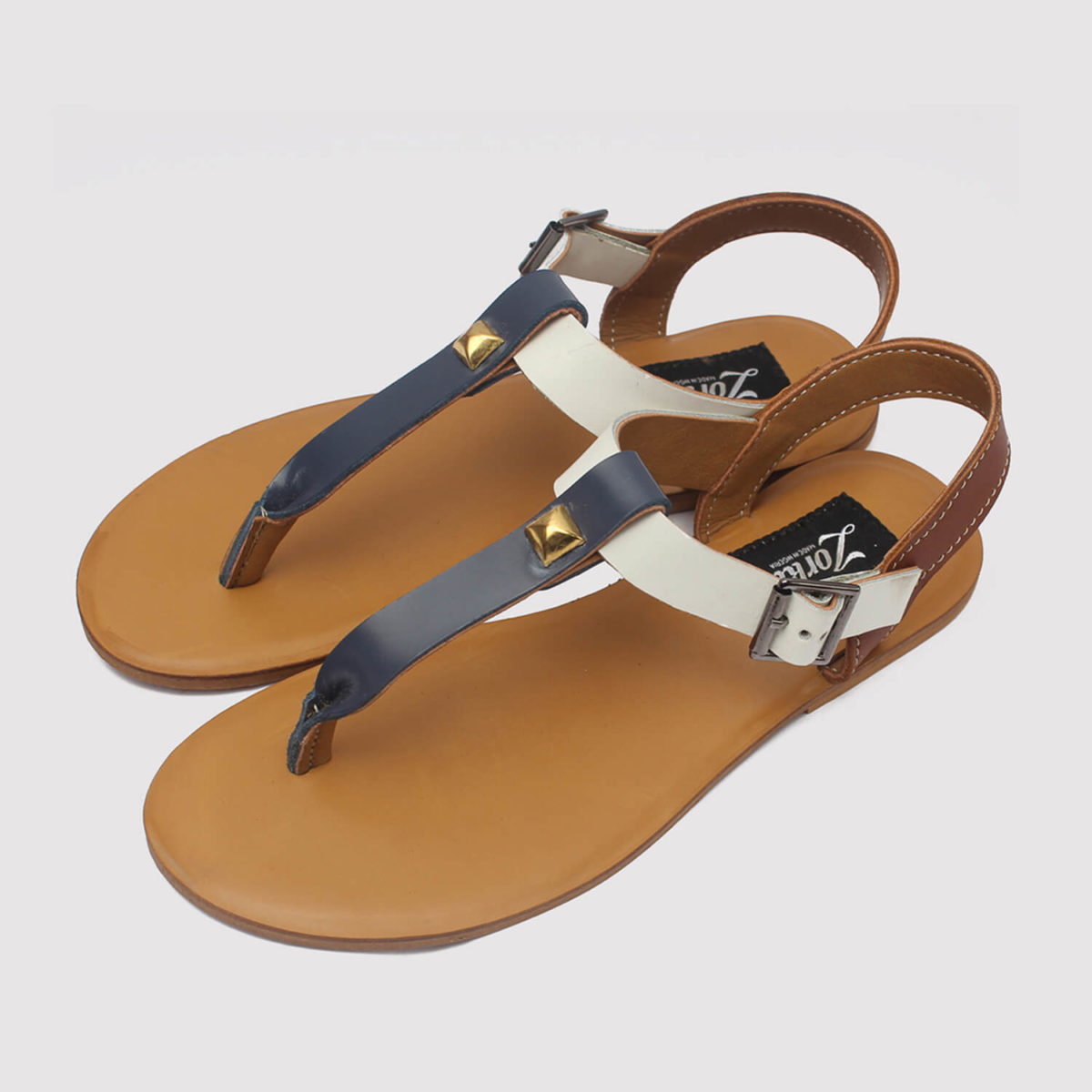 toke sandals blue brown white zorkle shoes in lagos nigeria
