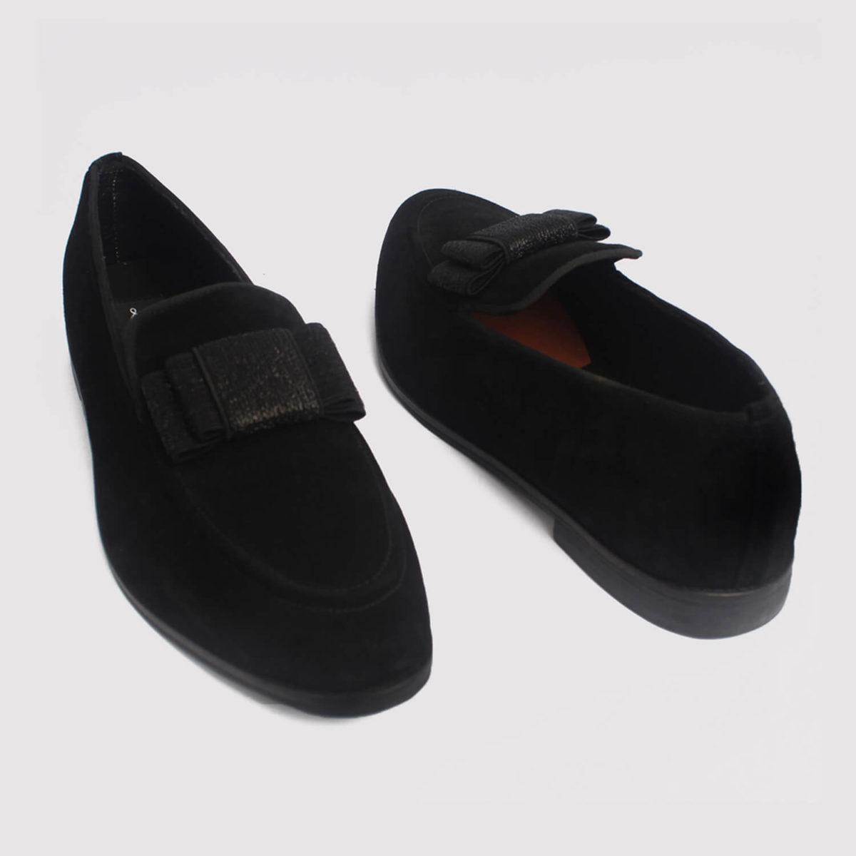 trevor bow loafers black suede zorkle shoes lagos nigeria