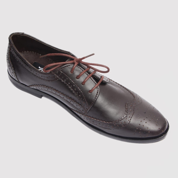 GGote broques shoes coffee brown leather zorkles shoes in lagos nigeria