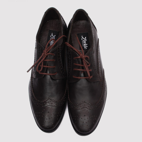 Gote broques shoes coffee brown leather zorkle shoes in lagos nigeria