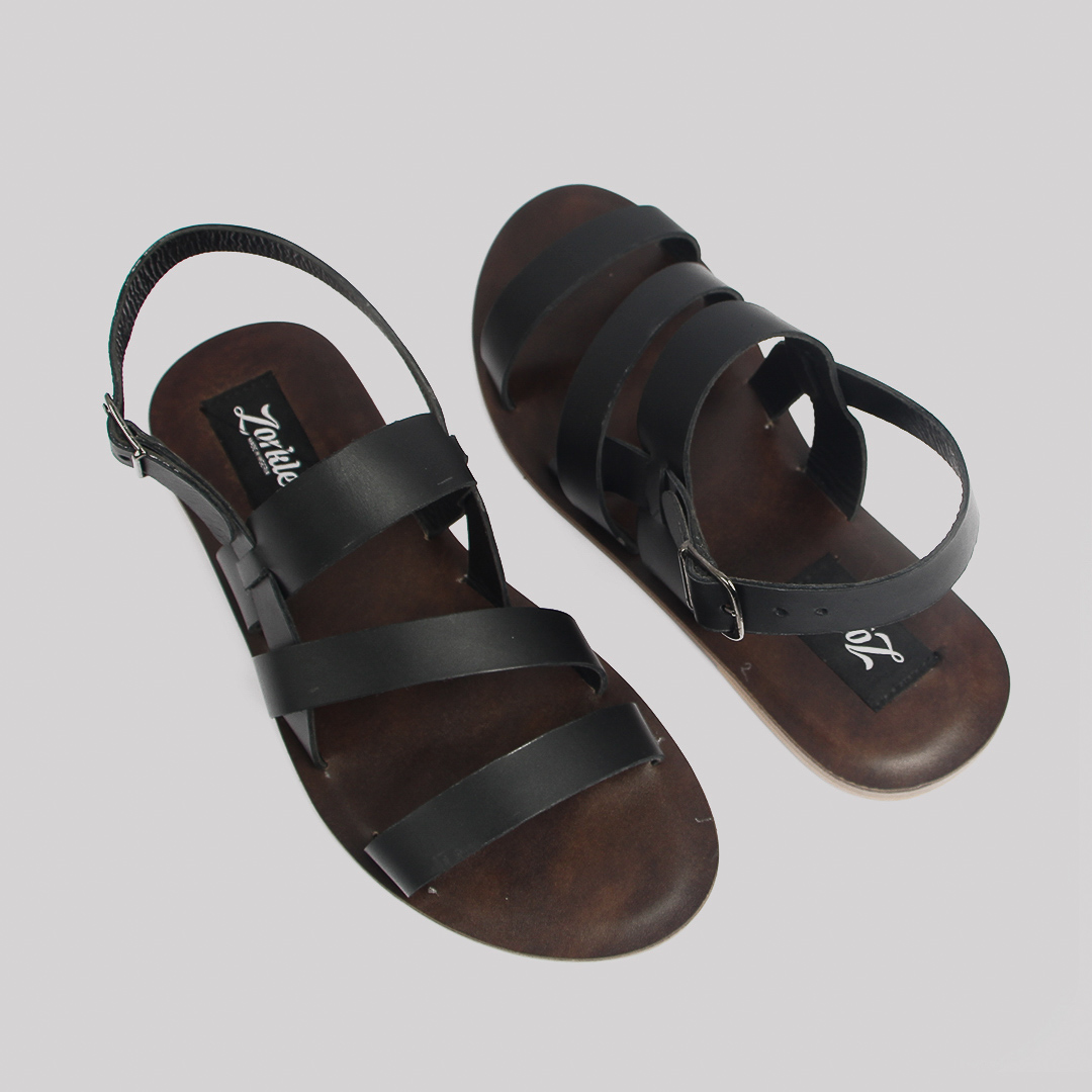 Gladiator sandals coffee brown leather zorkles shoes in lagos nigeria