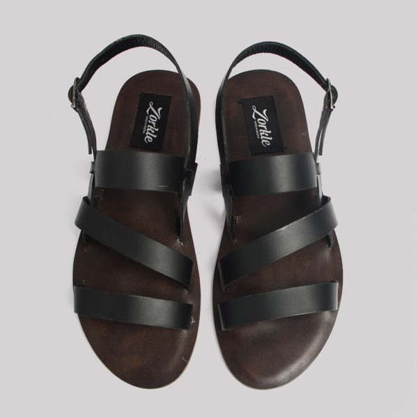 Gladiator sandals black leather zorkles shoes in lagos nigeria