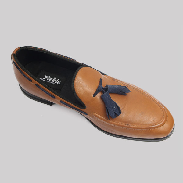 Hiland tassle loafers brown zorkles shoes in lagos nigeria