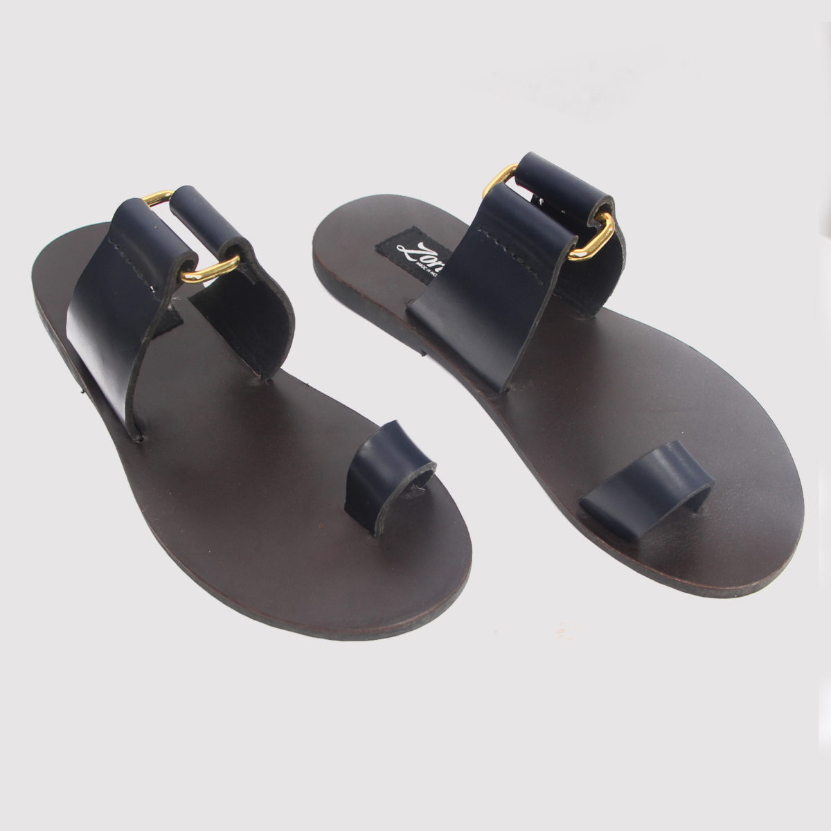 Kweenly slippers blue leather zorkle shoes in lagos nigeria