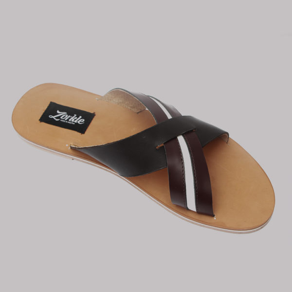 ab89519ab71a Lere flex cross slippers brown leather zorkles shoes in lagos nigeria