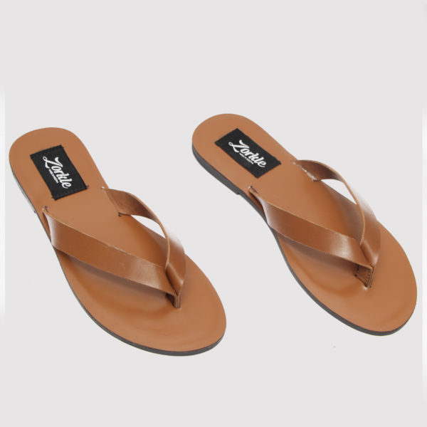 Phase slippers brown leather zorkles shoes in lagos nigeria