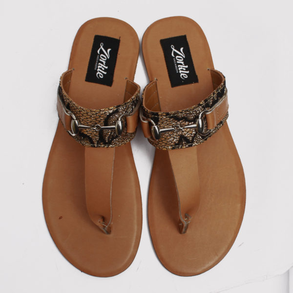 Trey slippers satin leather