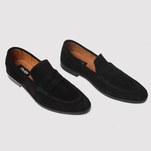 Tuns Oakmill shoes black suede zorkle shoes in lagos nigeria