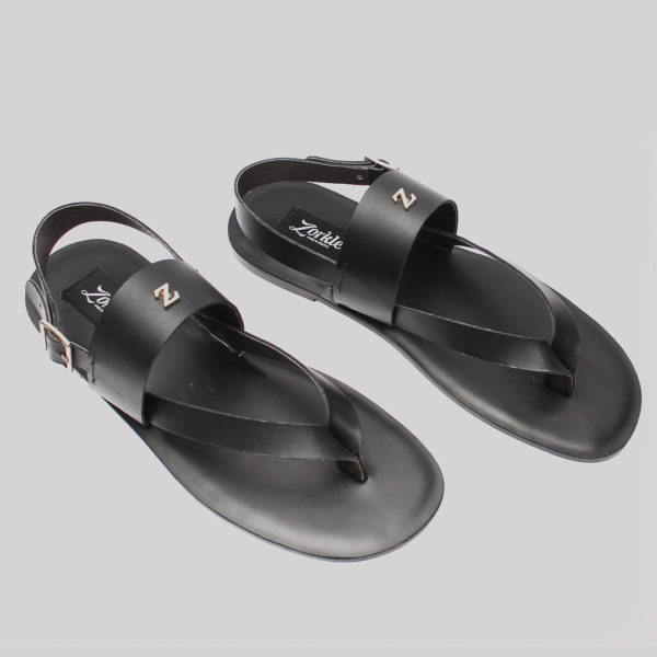 Zedo sandals black leather zorkles shoes in lagos nigeria