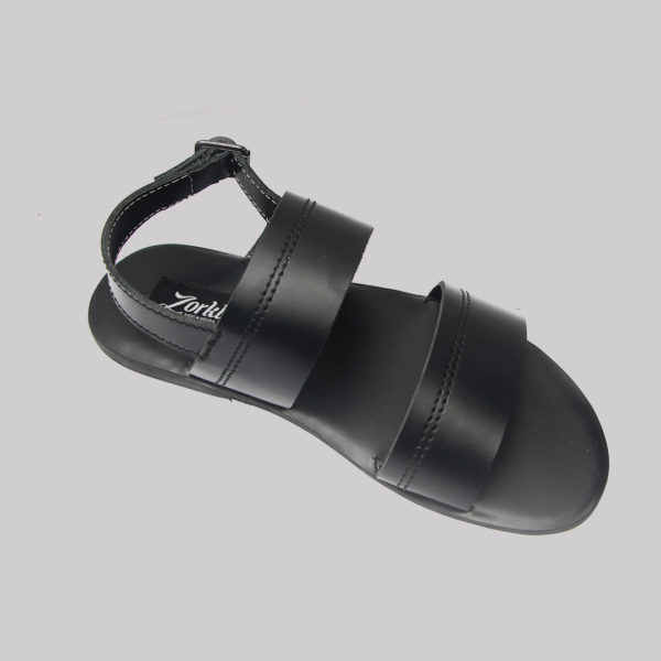 Alex sandals black leather zorkles shoes in lagos nigeria