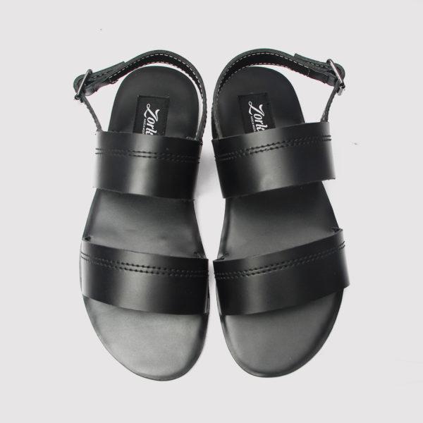 Alex sandals black leather zorkles shoes in lagos nigeria