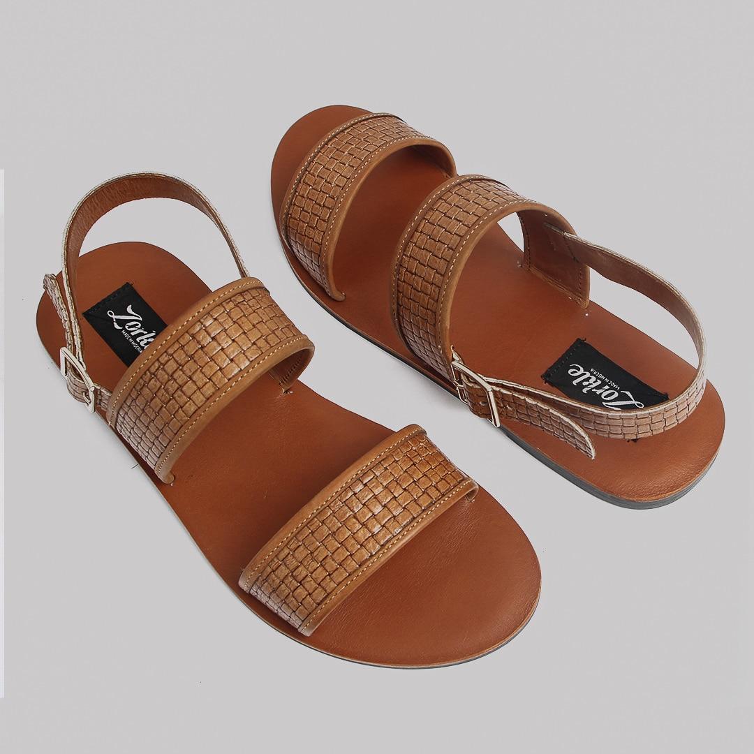 throner sandals brown zorkle shoes in lagos nigeria