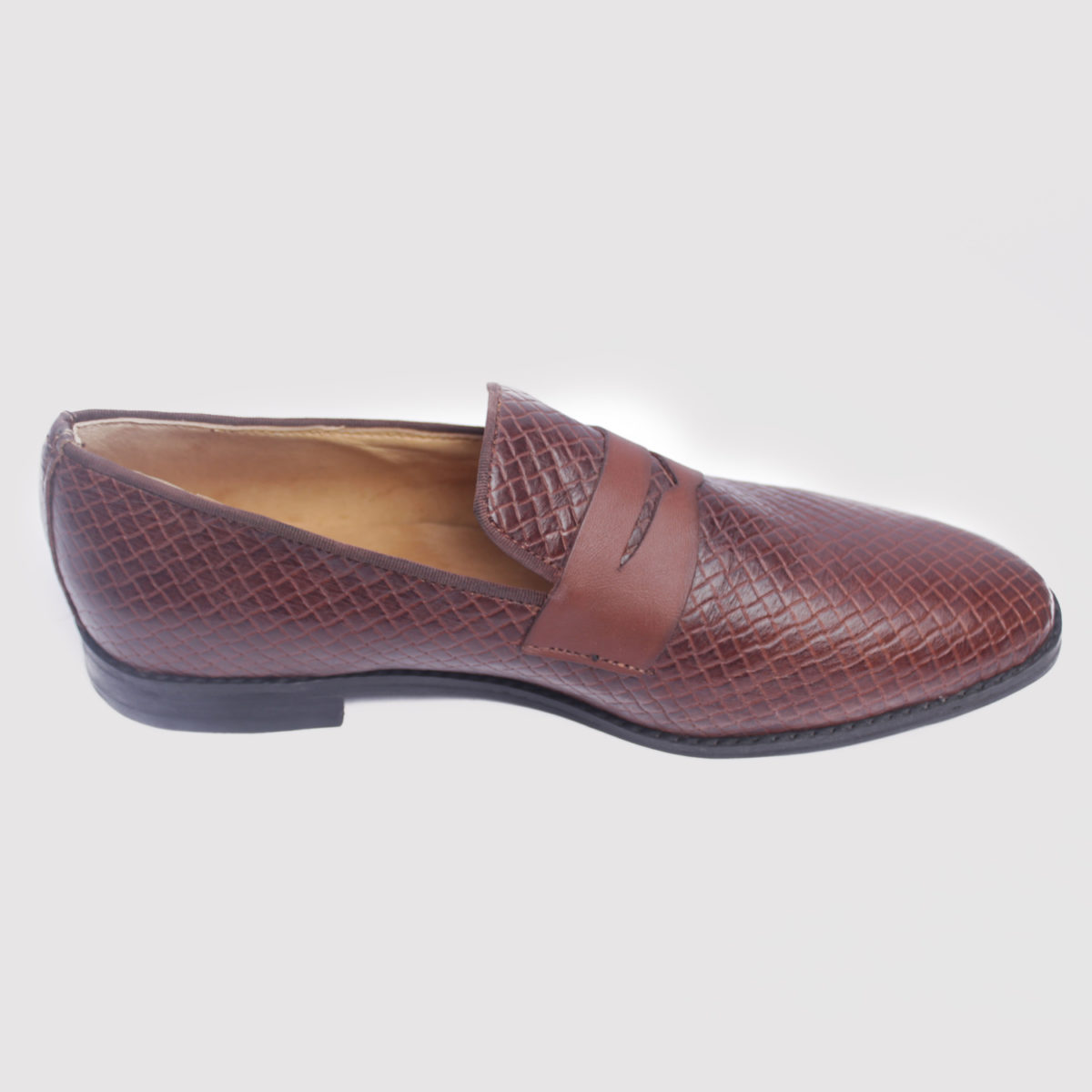 Ike loafers brown leather zorkle shoes in lagos nigeria