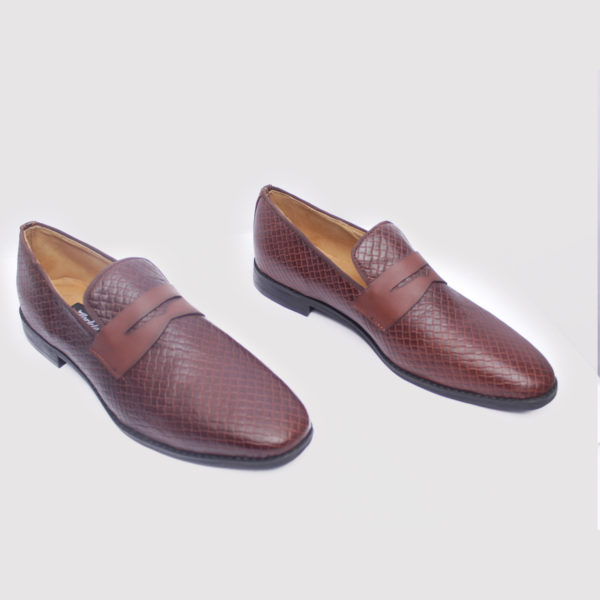 Ike loafers wine leather zorkle shoes