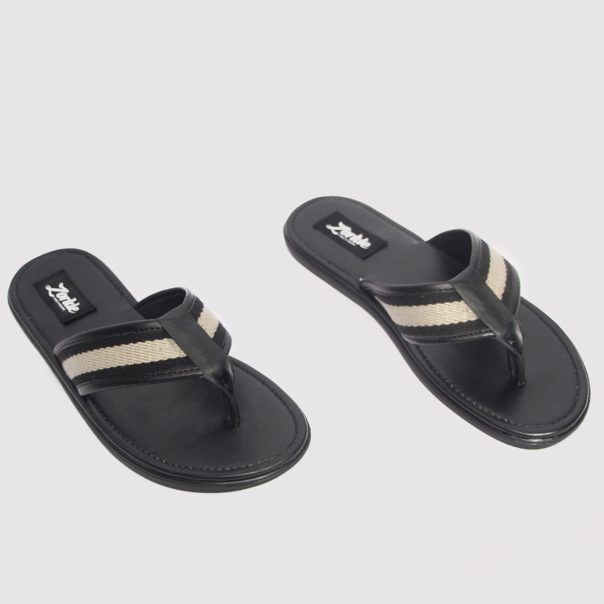 Lere flex slippers black leather zorkle shoes in lagos nigeria