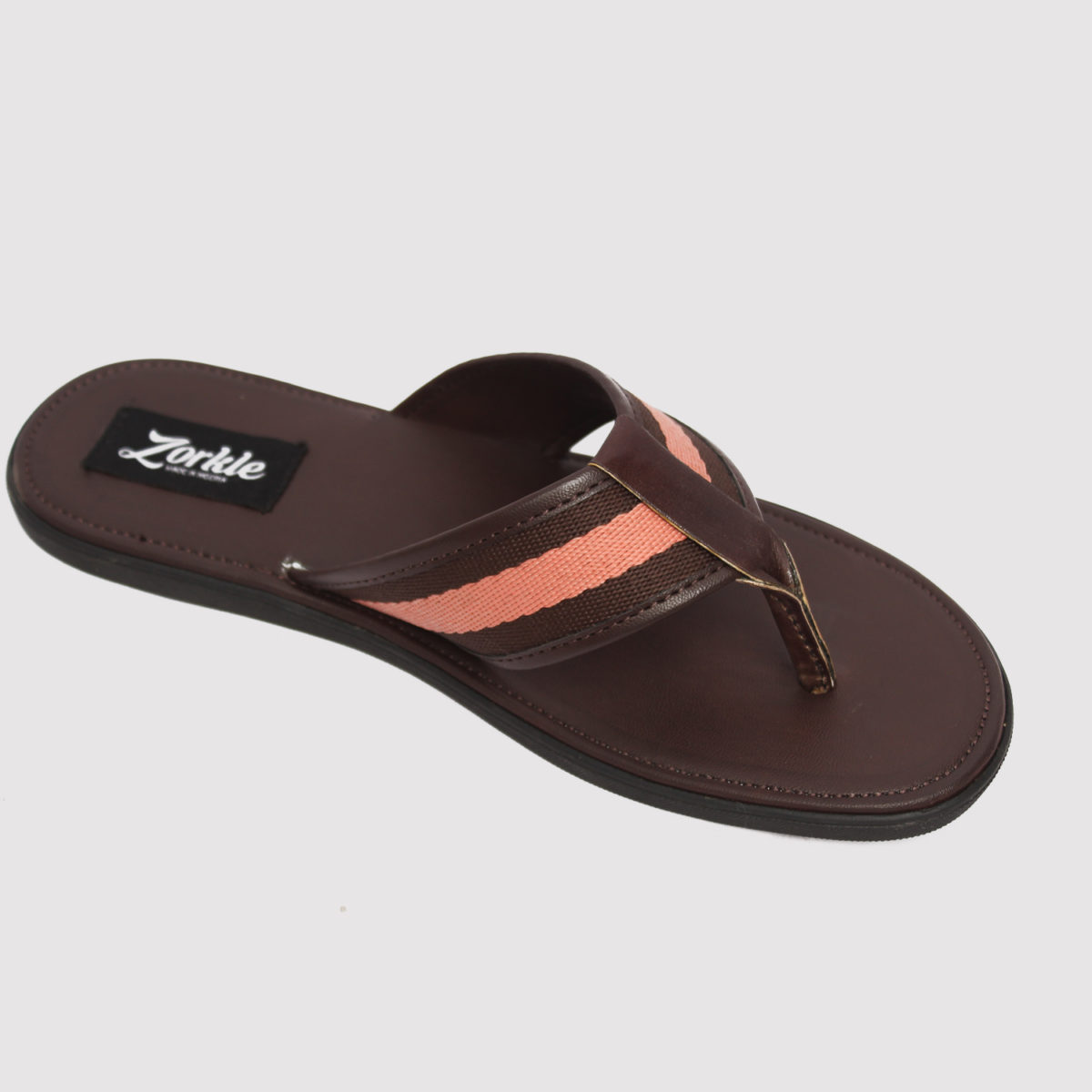 Lere flex slippers brown leather zorkle shoes lagos nigeria