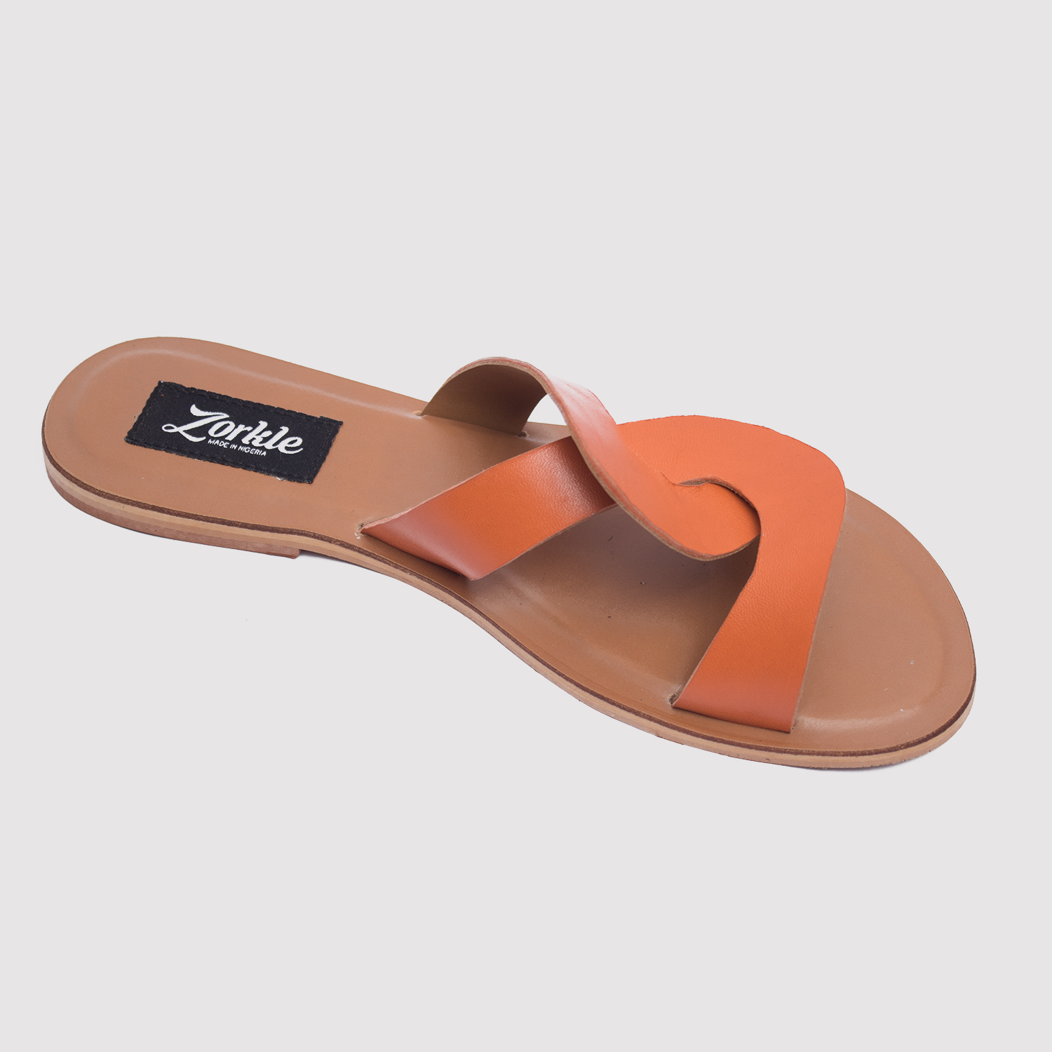 e581b6b9f8a4 ... CeeCee slippers brown leather zorkle shoes in lagos nigeria ...